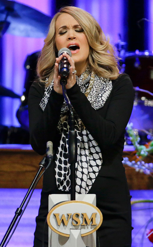 Pregnant Carrie Underwood Flaunts Biggest Baby Bump Yet